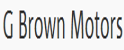 G Brown Motors Logo