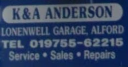 K AND A ANDERSON Logo