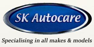 S K Autocare Logo