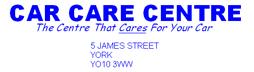 Car care centre (York) ltd Logo