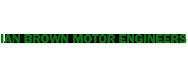 IAN BROWN MOTOR ENGINEERS LIMITED Logo
