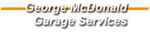 GEORGE MCDONALD GARAGE SERVICES LTD Logo