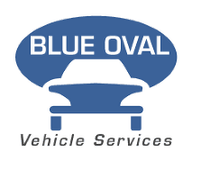 Blue Oval Vehicle Services Logo