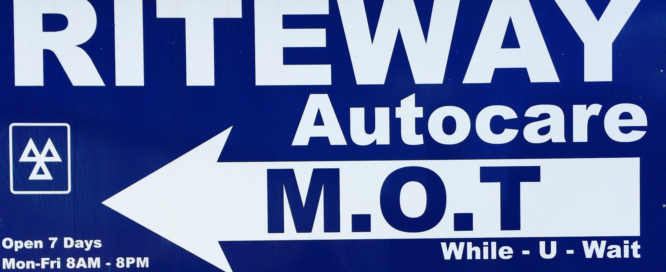 Riteway Autocare Logo