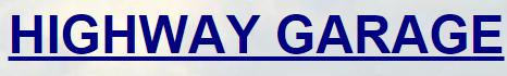 Highway Garage Logo