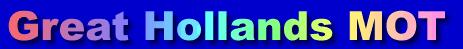 Great Hollands MOT & Service Logo