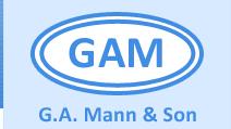 G A Mann & Son Logo