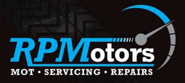 R P Motors Logo
