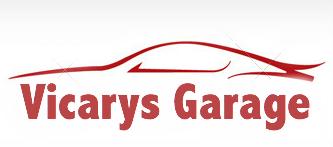 Vicarys Garage Logo