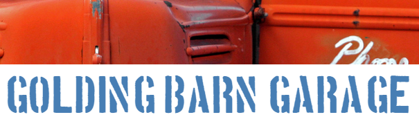 Golding Barn Garage Logo