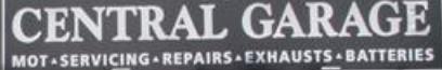 Central Garage Todmorden Logo