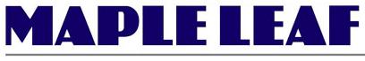 Maple Leaf Garage Logo