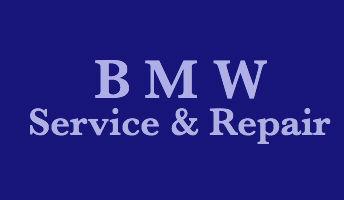 B M W Service & Repair Logo