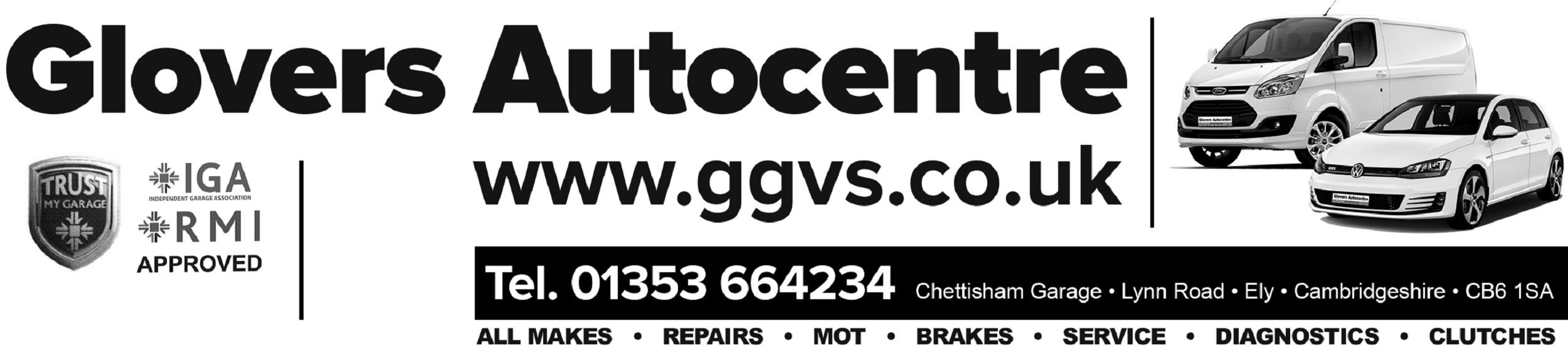 Chettisham Garage Logo