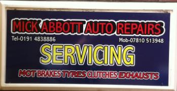 Mick Abbott auto repairs mwa ltd Logo