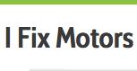 I Fix Motors Logo