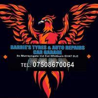 Barrie's Tyres & Autos Ltd Logo