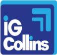 I G Collins Logo