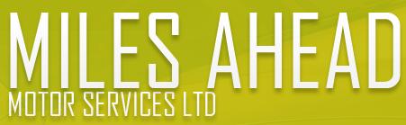 Miles Ahead Motor Service Logo