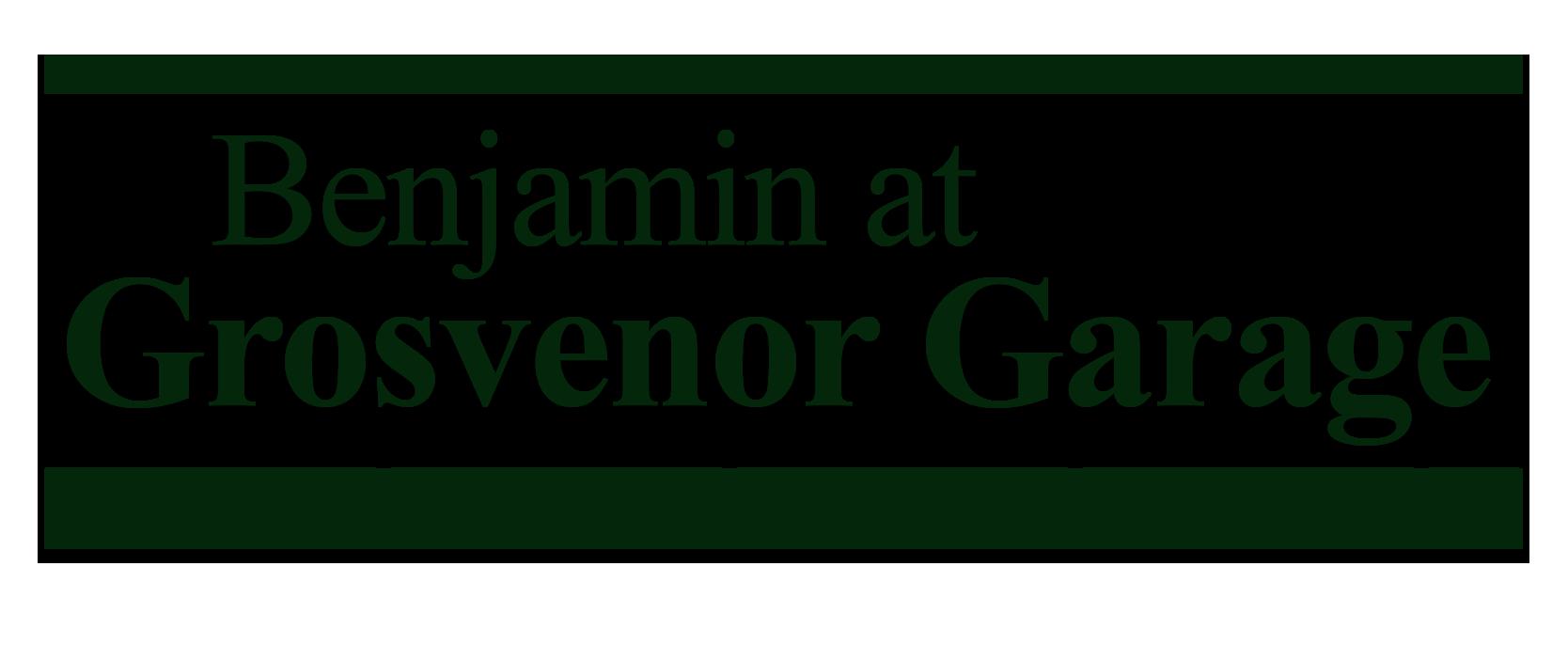 Benjamin at Grosvenor Garage Logo
