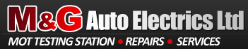 M & G Auto Electrics Ltd Logo