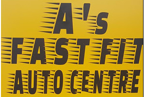 A's Fast Fit Auto Centre - Booking Tool Logo