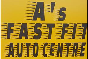 A's Fast Fit Auto Centre Logo