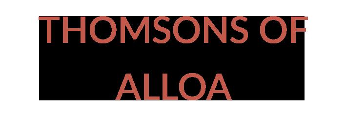 THOMSONS OF ALLOA Logo