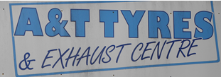 A and T Tyres Logo