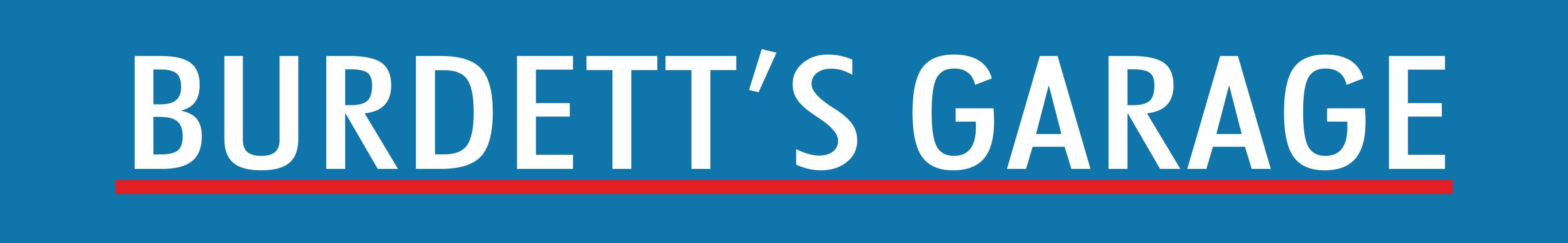 Burdett's Garage Logo