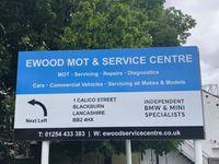 Ewood MOT & Service Centre Logo