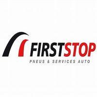 First Stop Pilgrim Tyres Logo