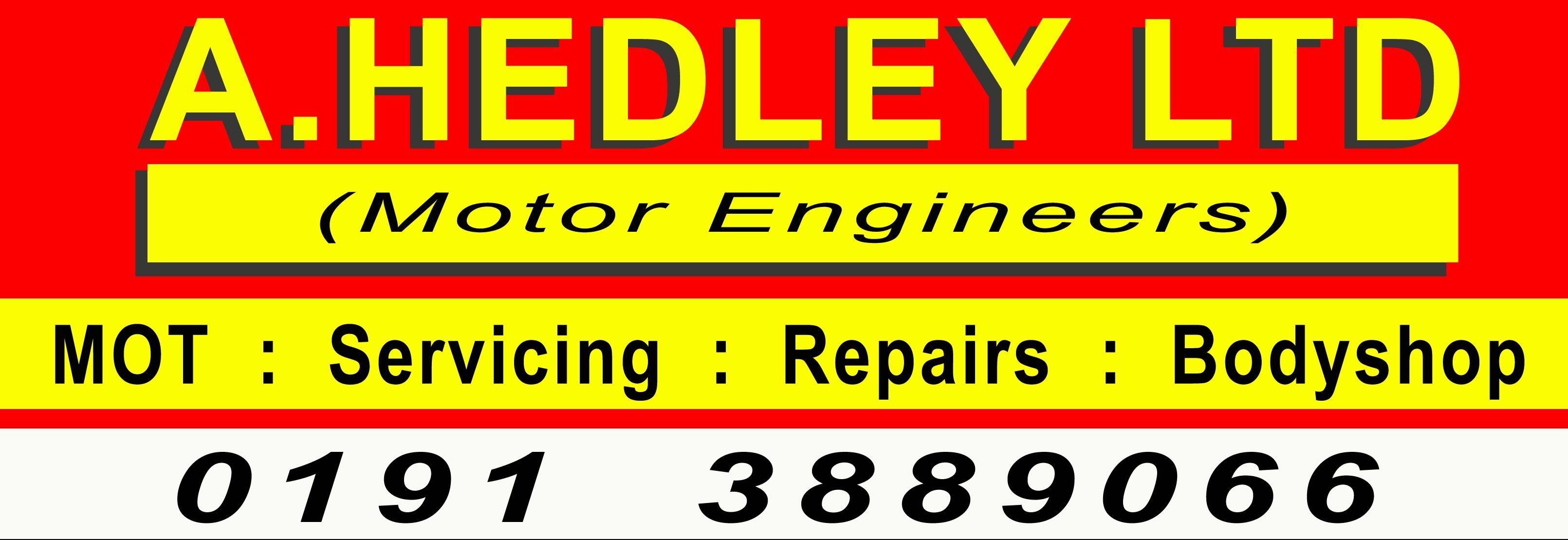 A HEDLEY (MOTOR ENGINEERS) LTD Logo