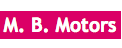 M. B. Motors Logo