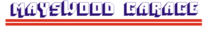 Mayswood Garage Logo