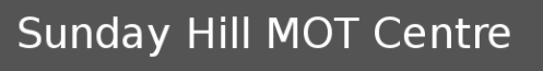 Sundays Hill MOT Centre Logo