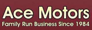 ACE Motors - WF9 2HX Logo