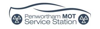Penwortham MOT Service Station Logo
