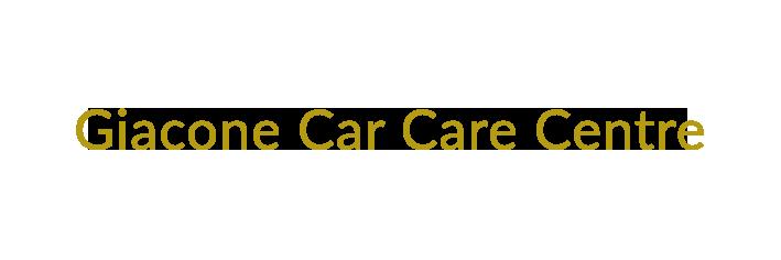 Giacone Car Care Centre Logo