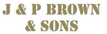 J & P Brown & Sons Logo