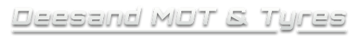 Deesand Mot's and Tyres Logo