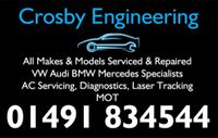 CROSBY ENGINEERING Logo