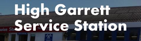 High Garrett Service Station Logo
