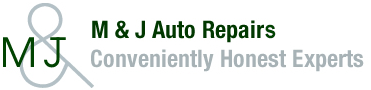 M AND J AUTO REPAIR Logo