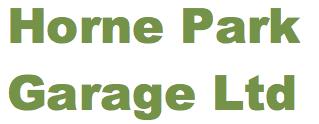 Horne Park Garage Ltd Logo
