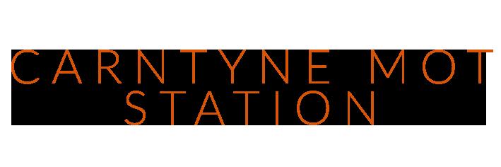 CARNTYNE MOT STATION Logo