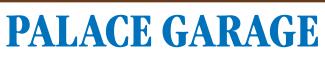 PALACE GARAGE Logo