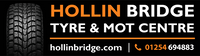 Hollin Bridge Tyre & MOT Centre Logo