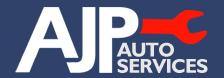 A J P Autos Logo