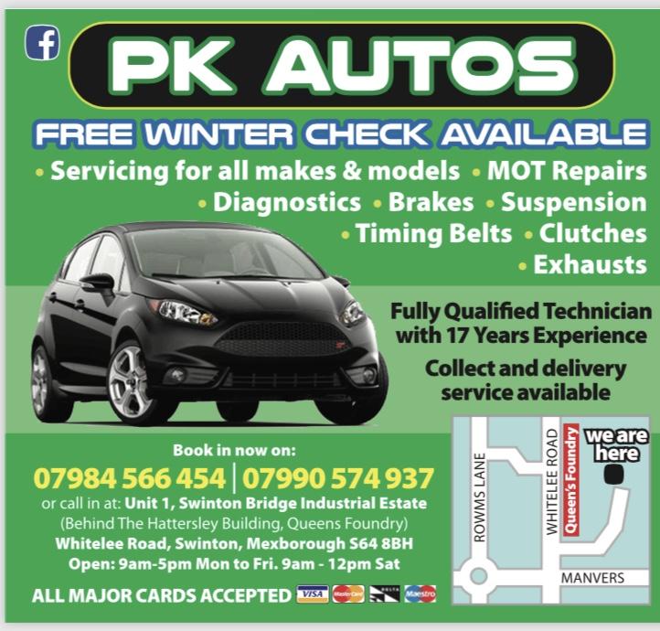 PK Autos Logo